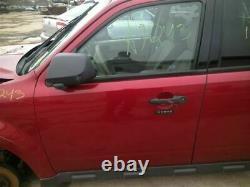 Driver Front Door Électrique Avec Clé D'entrée S'adapte 09-12 Escape 2050444