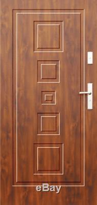 Fargo 28 Porte D'entrée Simple Et Classique / Solide Porte D'entrée Avant Extérieur