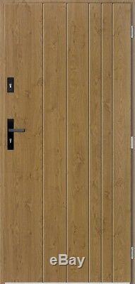 Gutenberg Porte D'entrée Contemporaine / Solides Portes D'entrée Avant Extérieur