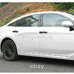 Housse De Poignée De Porte En Fibre De Carbone Pour Toyota Camry 2018 2019 2020