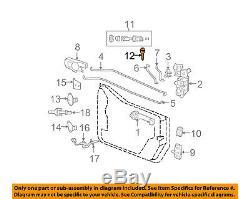 Jeep Wrangler Chrysler Oem 07-16 Avant Porte D'entrée-clé Blank 5143553aa