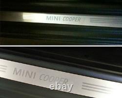 Mini New Oem R50 R52 R53 R56 LCI Mini Cooper Door Entry Sill Strip Paire 2 Pcs