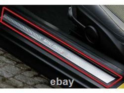 Mini Nouveau Véritable R56 R57 R58 S Porte D'entrée Sill Strip Cover Set Paire Gauche Droite