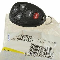 Oem Entrée Sans Clé À Distance Émetteur 5 Bouton De Démarrage À Distance Pour Buick Chevrolet Gmc