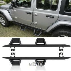 Off Road 4door Gardien Entrée Nerf Bar Side Step Marchepied Pour Jeep Wrangler Jl