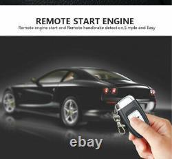 Pke Car Alarm System Passive Keyless Entry Button Démarrer / Arrêter Moteur À Distance
