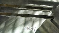 Poignées Push Pull Pour Entrée Porte D'entrée Porte, Intérieur / Extérieur Satin