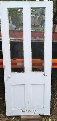 Porte Bois Entrée Avant Extérieur Farm House Vintage Antique