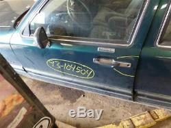 Porte D'entrée Sans Clé Avec Conducteur Avant Pad Convient 90-94 Lincoln Town Car & 9786090