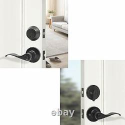 Porte Extérieure Lock Set Avec Porte D'entrée À Pêne Dormant Avant Levier Lockset Avec Simple