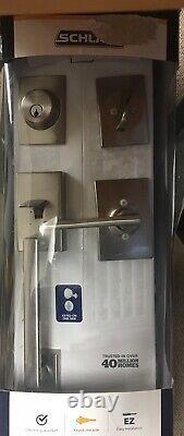 Schlage Extérieur Lock Latitude À L'intérieur Poignées D'entrée Avant (f60 V Cen 619 Lat)