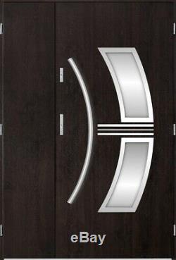 Sirius Uno Porte D'entrée Extérieure En Vente / Double Porte Maison Avant Vitrée