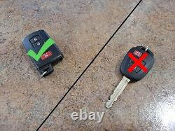 Toyota Tundra 1g3 Mirror Covers & Smart Entry 2 Door Handle Kit Genuine Oe Oem